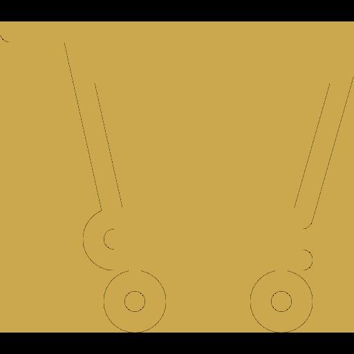 Diensten webshop icoon goud