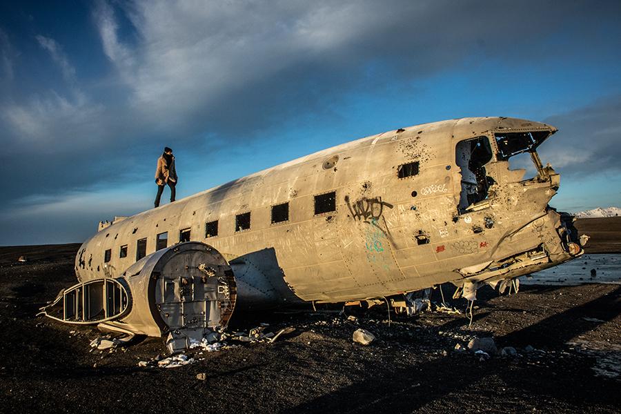 Sólheimasandur DC plane - IJsland
